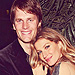 Gisele Bëndchen Snuggles Up to Tom Brady In Sultry, Sequined Dress