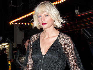 Taylor Swift's Style Overhaul Continues with Sexy, See-Through Jumpsuit