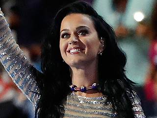All About Katy Perry's Glittery Democratic Convention Performance Look