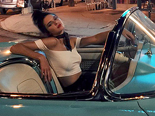 Kendall Jenner Goes Grease While the Rest of Her Family Dresses to Impress for a Day at the Races