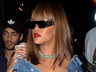 Of Course Rihanna's Dior Sunglasses Are Plated in Real Gold