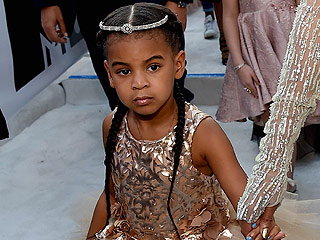 Blue Ivy Proves She's the Daughter of a Queen in $11,000 Dress and $565 Sneakers at the VMAs