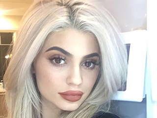 Kylie Jenner Just Realized Her Refrigerator Is the Best Place to Take a Selfie (Yes, Really)