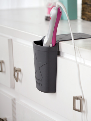WATCH: Declutter Your Bathroom with This Genius Hot Tools Holster
