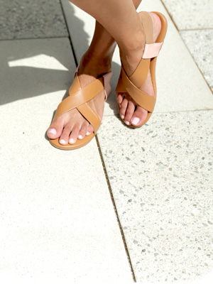 WATCH AND SHOP: There's a Reason Celebs Love This Brand of Sandals (They're So Comfy!)