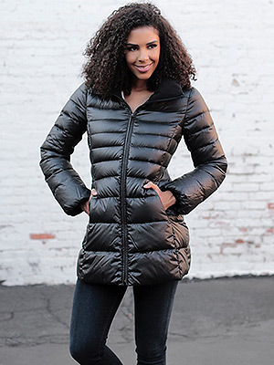 WATCH AND SHOP: This Puffer Is So Flattering (and It's Under $90)
