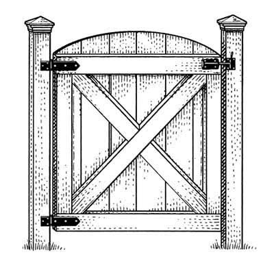Gate illustration