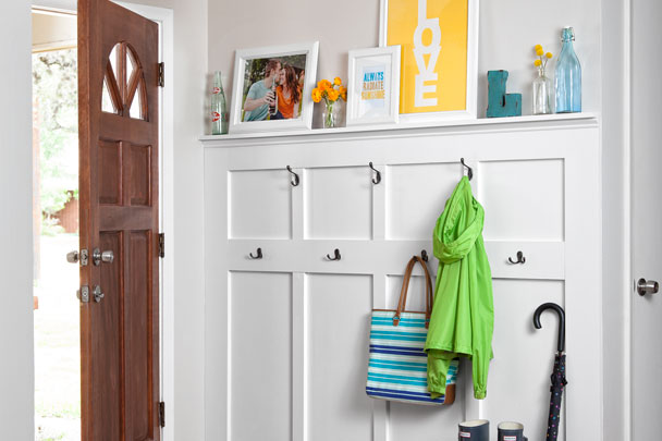 cottage entry budget remodel