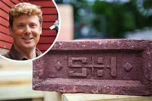 period Stile and Hart brick in a porch project for TOH TV
