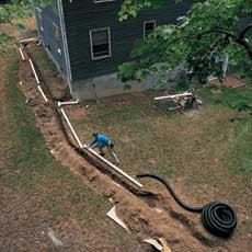 Extending Downspouts