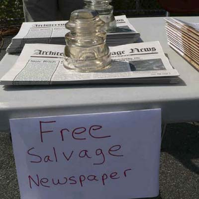 Architectural Salvage News at Salvage Fest