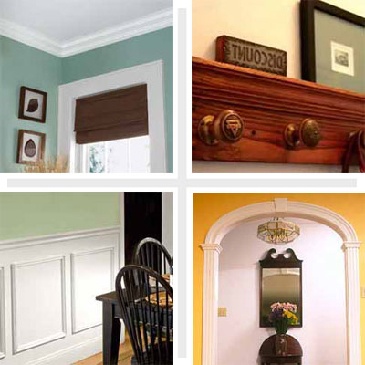crown molding and other diy architectural details