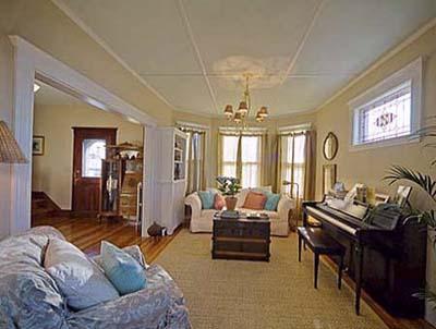 East Boston Second floor living room