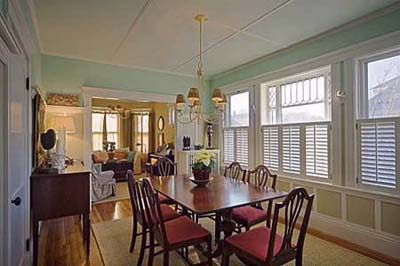 East Boston Second floor dining room