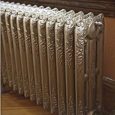 cast-iron steam radiator
