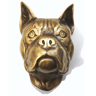 dog head door knocker