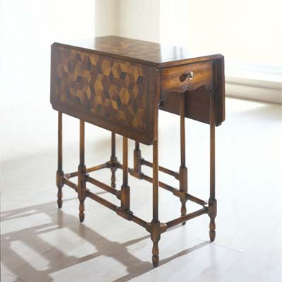 ABC Home Drop-Leaf Table