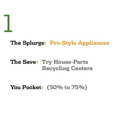 Save While You Splurge: Pro=Style Appliances