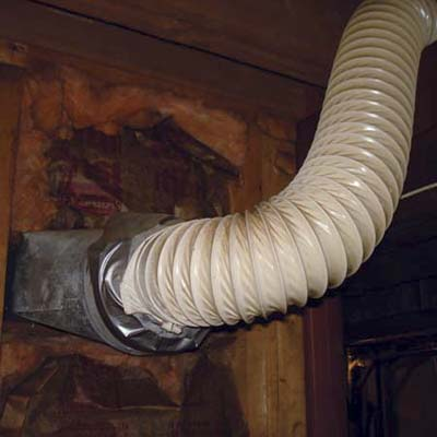 another dangerous do-it-yourself installation of a hot air return duct