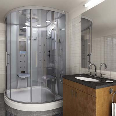 monza steam shower