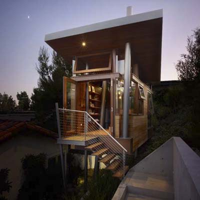 banyon drive treehouse in california