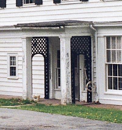 1800s farmhouse second front entry