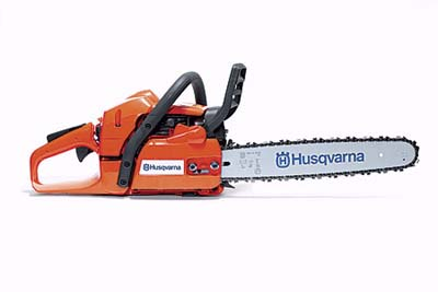 Husqvarna 345-e chain saw
