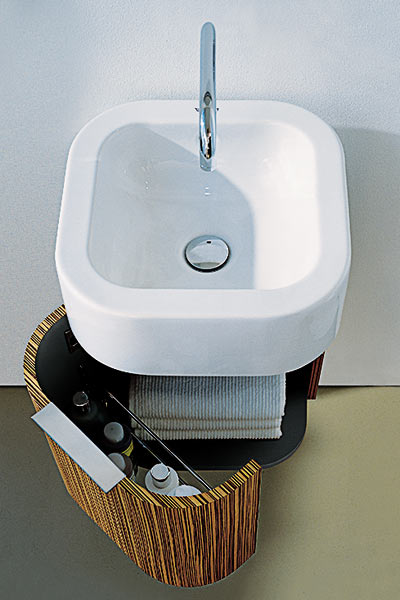 Space Saver Bathroom Sink : previous 1 11 next cantilevered sink wall mount lavs make small baths ...