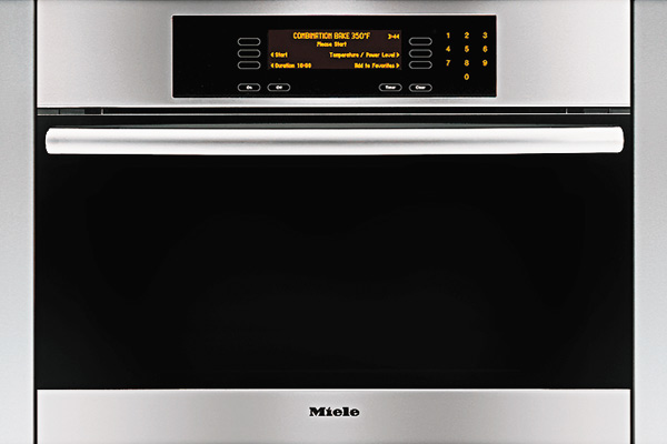 two ovens in one from Miele