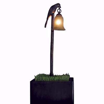 Hinckley Lighting antique-looking lamp with a bronze finish
