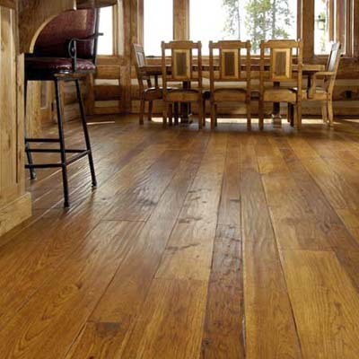 wide plank wood finished floor