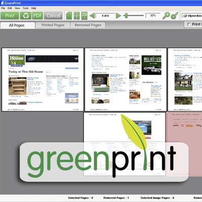 greenprint paper-saving software
