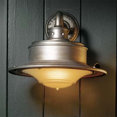 dock light sconce from troy lighting