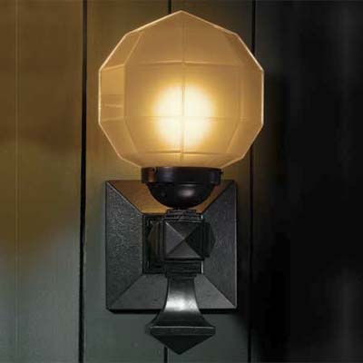 glow globe sconce by rejuvenation