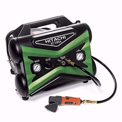 77-pound oil-lubricated power compressor