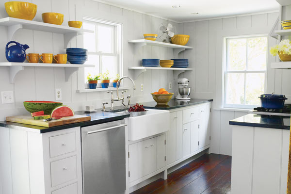 After: Modern Layout, Classic Details | A Functional Kitchen ...