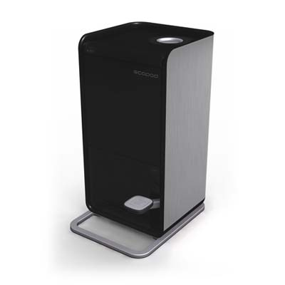 black ecopod recycling container