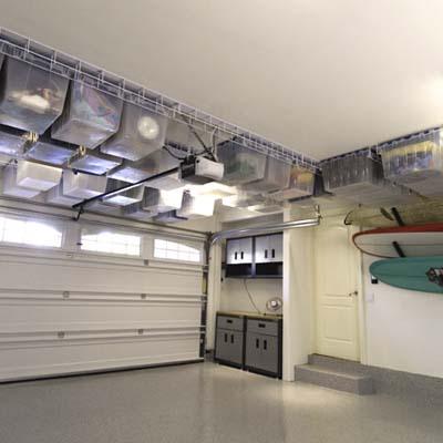 Tote Trac storage bins