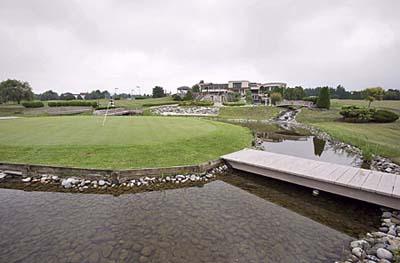 Michael Andretti's golf course