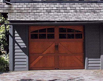 barn-red garage doors