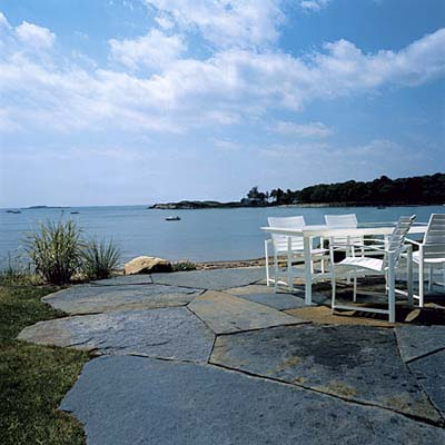 stone patio in Manchester-by-the-Sea