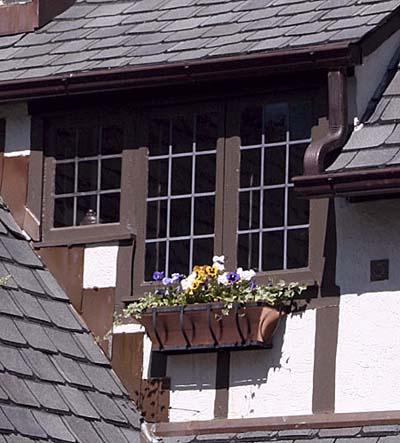 window box for a tudor