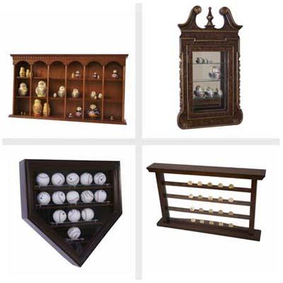 4-way composite, display cases