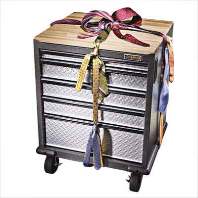 Gladiator garage workshop organizer