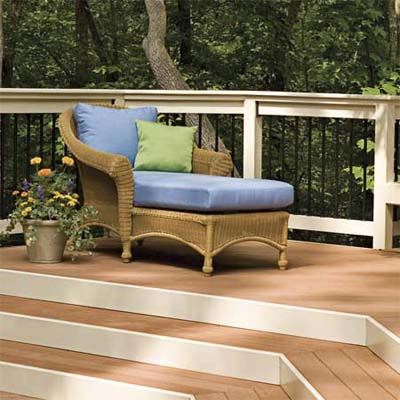a deck can have the same variety of spaces you have inside your house