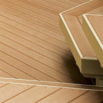 composite boards used in deck construction