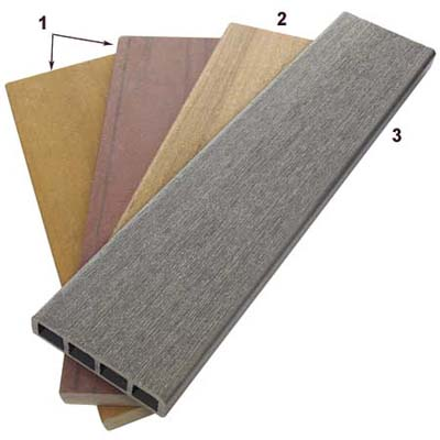 composite boards to use in deck construction