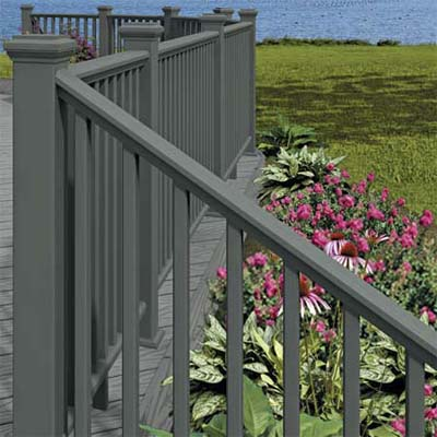 wood composite railings