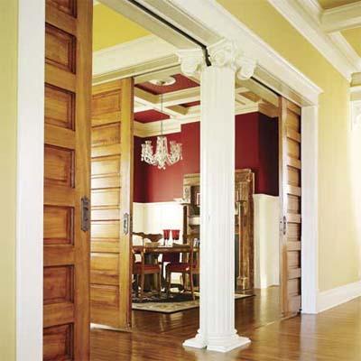 victorian-era pocket doors
