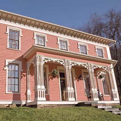 italiante house after restoration
